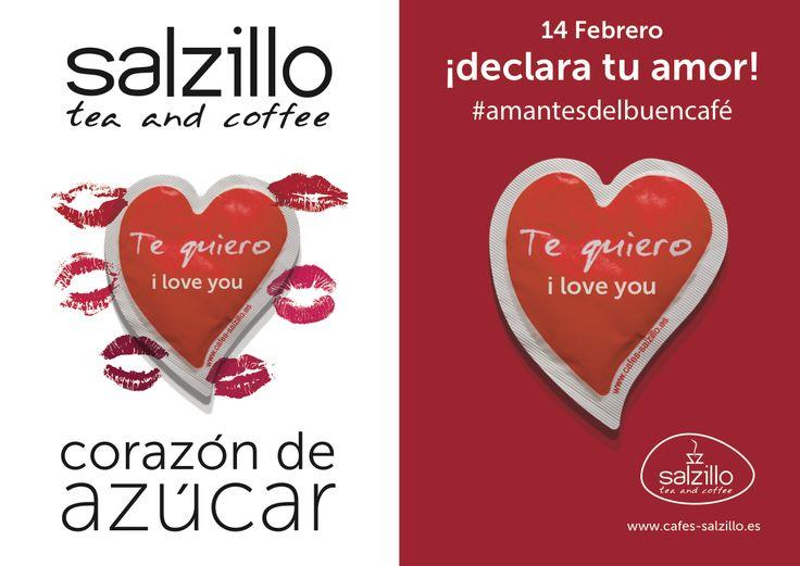 #AmantesDelBuenCafe desde Salzillo tea and coffee os deseamos ¡Feliz San valentín!. Felicidades a todos los enamorados; esta es vuestra semana.