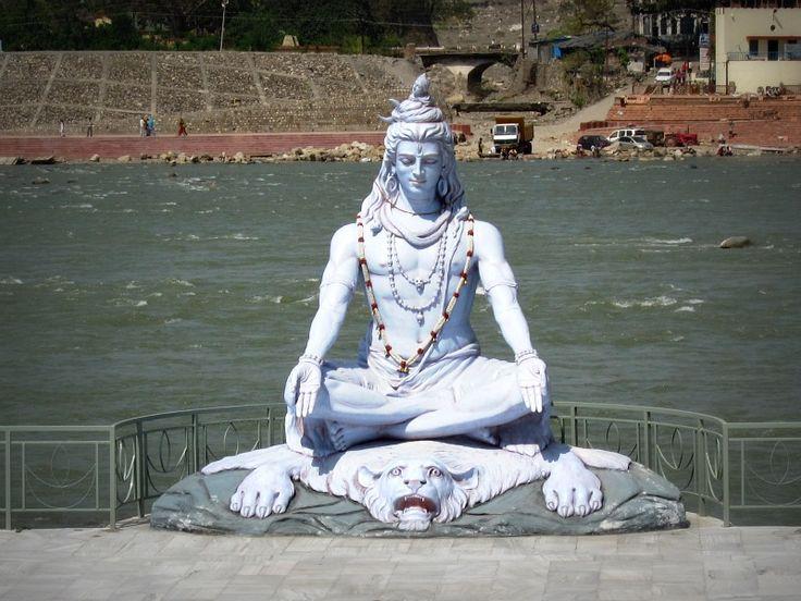 Shiva in Rishikesh, India