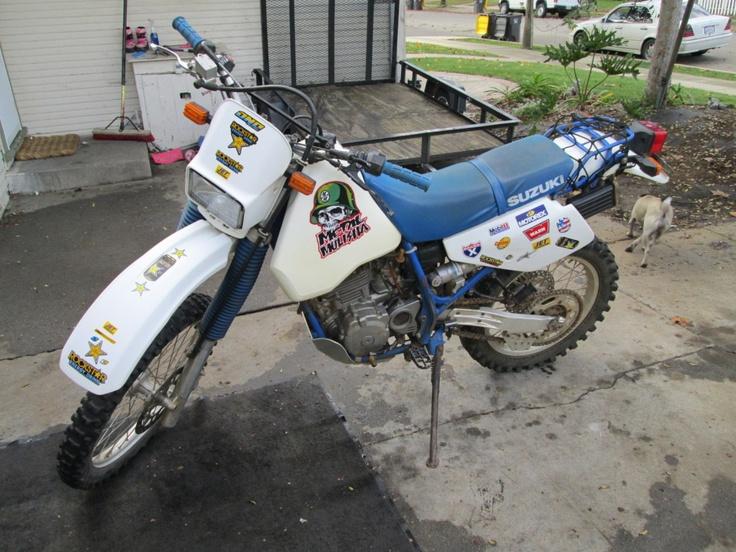 1993 Suzuki dr350s 1600 Enduro motorcycle, Cars