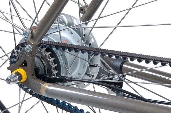Traffic Urban Beltbike - Zadní náboj - převodovka v náboji Shimano Nexus Inter 8 SG-C6000-8V