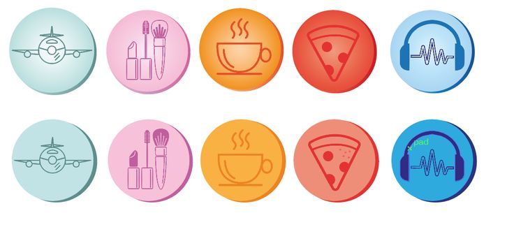 algeme schets reizen make-up tea/coffee time en eten