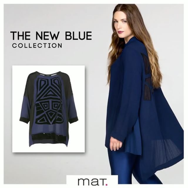 The New Blue #matfashion Collection 🔹Το εντυπωσιακό μπλε και η σοφιστικέ αντίθεσή του με το μαύρο χαρίζουν μοναδικές chic εμφανίσεις! Ανακάλυψε το New Blue Trend στα αποκλειστικά καταστήματα και online!