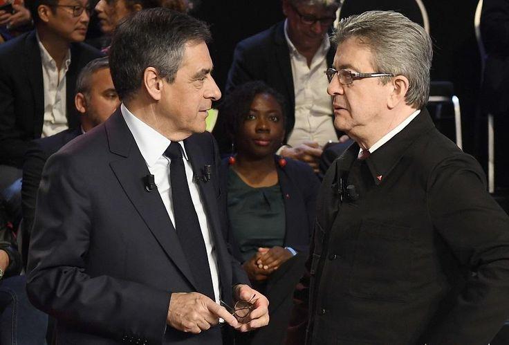 SONDAGE EXCLUSIF - Jean-Luc Mélenchon devant François Fillon pour la première fois, Le Pen et Macron en baisse