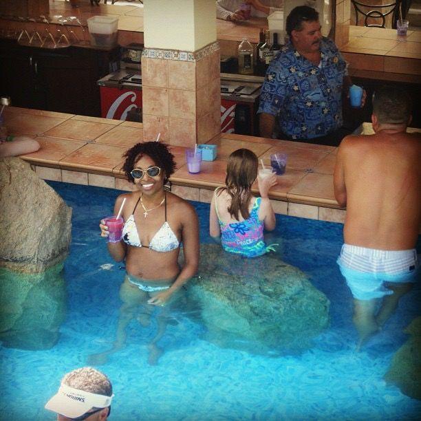 Aruba! Occidental Grand! Poolside Bar!