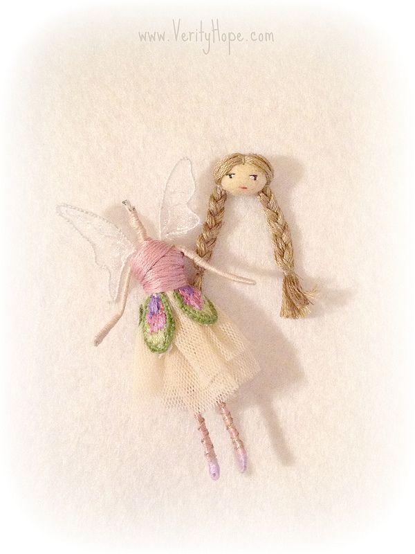 Fairy doll tutorial on blog http://verityhope.blogspot.co.uk