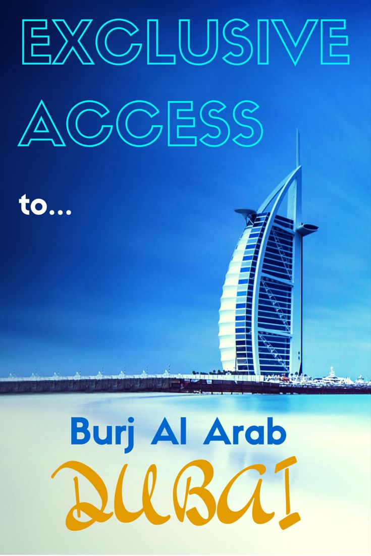 Exclusive Access to the Burj Al Arab [VIDEO]