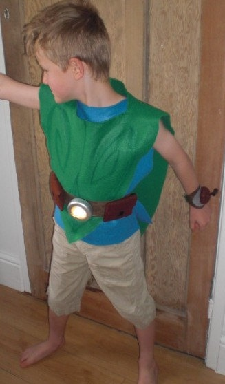 pixie boy costume idea