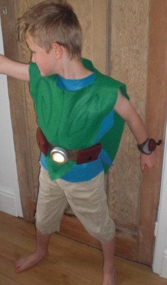 pixie boy costume idea