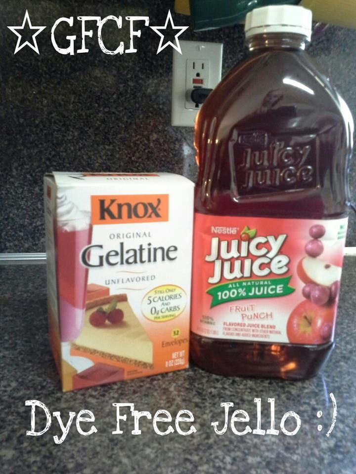 This will be the easiest post I ever write:         Did you know that not all juice is GFCF?   Read yourlabels!         The End