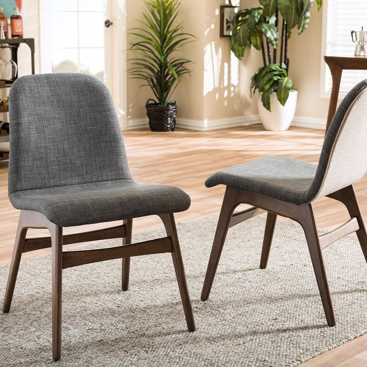 fabric dining room chairs. Embrace Gray Fabric Dining Chair  Set of 2 Best 25 dining chairs ideas on Pinterest Eclectic
