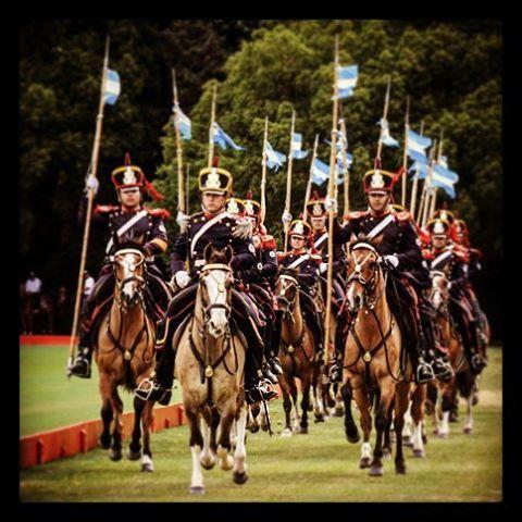 Escuadron Riobamba,Regimiento Granaderos a caballo General San Martin.
