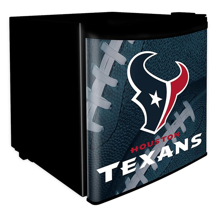 Officially Licensed NFL 1.7 cu. ft. Dorm Room Refrigerator - Houston Texans