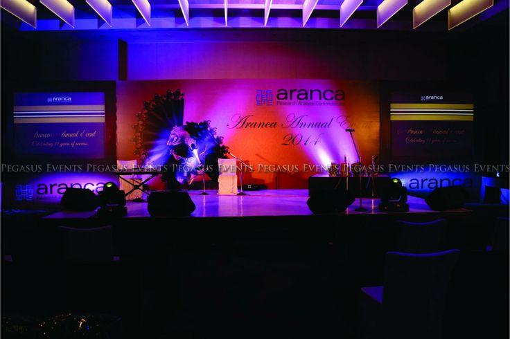 Corporate Events   Annual Awards   Masquerade Theme   Theme Events   Aranca   Pegasus Events   Mumbai