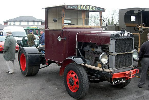 1926 Scammell S10 Tractor Unit