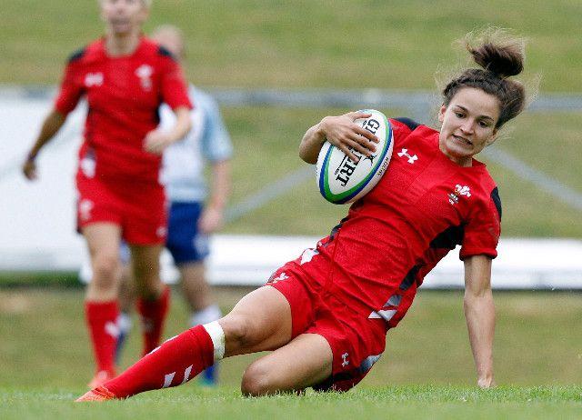 Jasmine Joyce - Rugby Sevens.