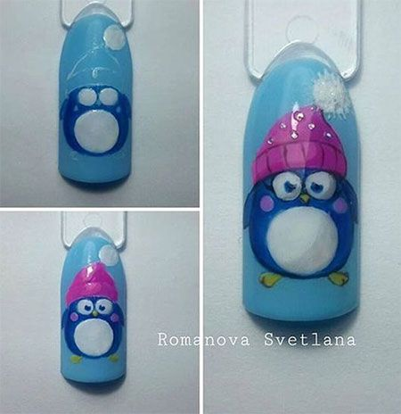 Best 25 nail art tutorials ideas on pinterest nail art images 15 step by step winter nails art tutorials for learners 2017 prinsesfo Gallery