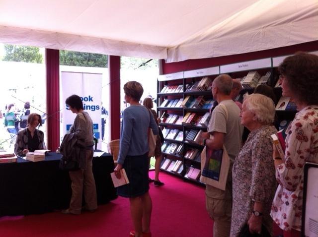 Edinburgh International Book Festival, beautiful audience...