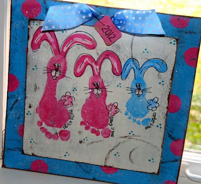 Is it wrong to use your kids to open a footprint/handprint art sweatshop?  There are just so many cute ones . . .