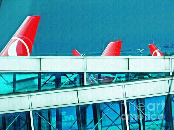 Istanbul Ataturk Airport Photograph By Sarah Loft Fineartamerica Featured