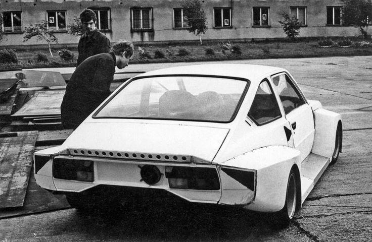 1983 Skoda Garde Turbo Gr5