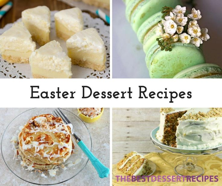 86 best cute and easy easter dessert recipes images on