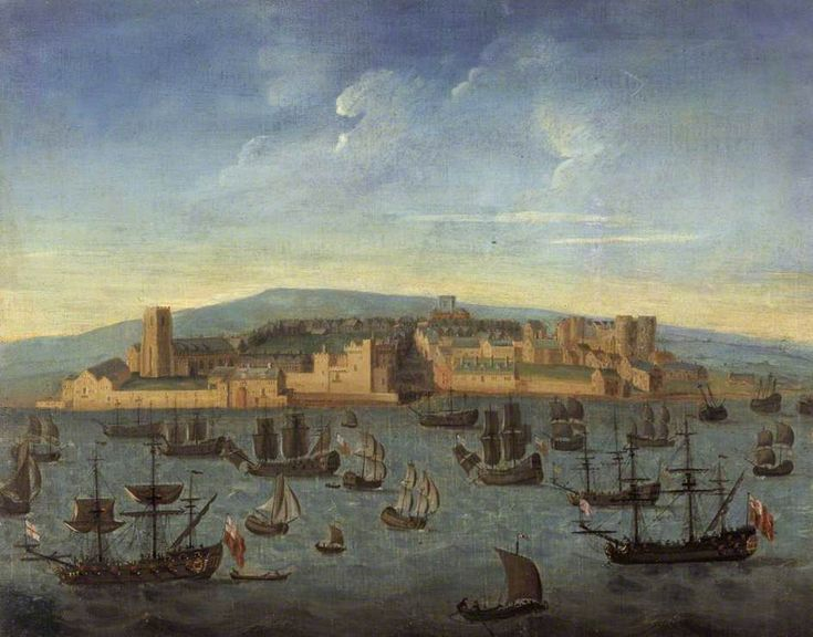 """Liverpool in 1680"" the earliest known image of Liverpool"