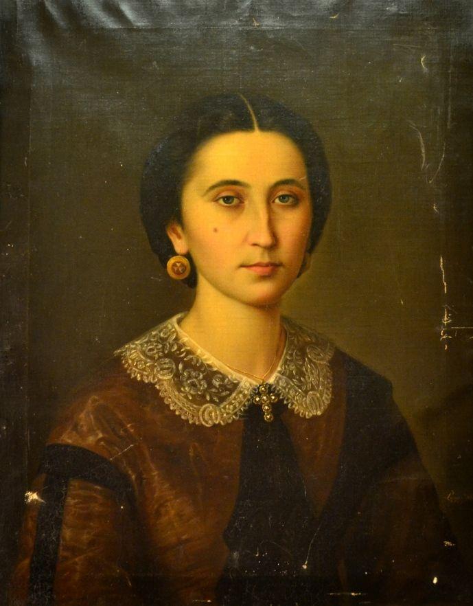 Mișu Popp - Portret de tânără