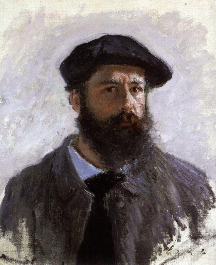 Αυτοπροσωπογραφία με μπερέ (1886)