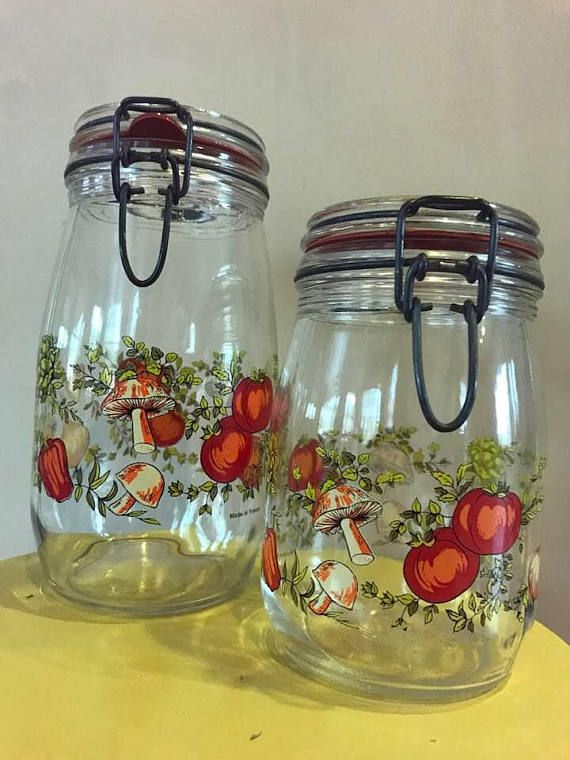 Arc Spice Of Life Vintage Glass Mushrooms Vegetables Glass Mushrooms Mushroom Vegetable Stuffed Mushrooms