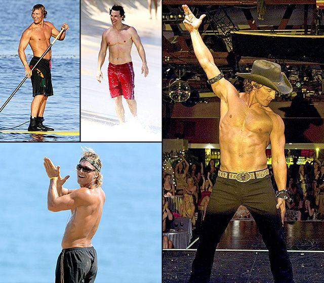 Hello, Hotness! Matthew McConaughey's Buff Body