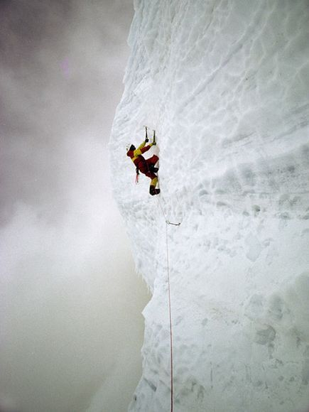 Climber on Mount McKinley - so want to go there! Must get fit enough to earn it.