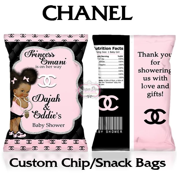 Baby Chanel Chip Bags / Favor Bags