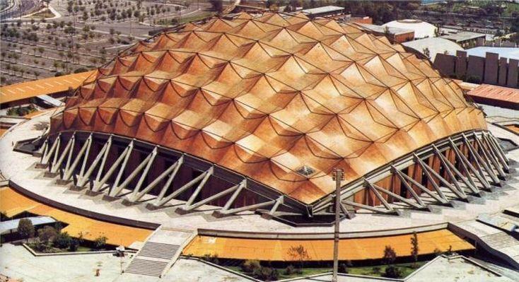 Palacio de los Deportes by Félix Candela. Mexico City