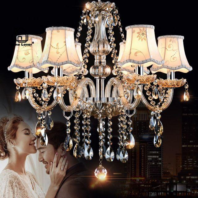 Люстры Освещение для дома освещение Спальня Кухня Светильники Коньяк Цвет люстры пункт сала де jantar современные светодиодные люстры