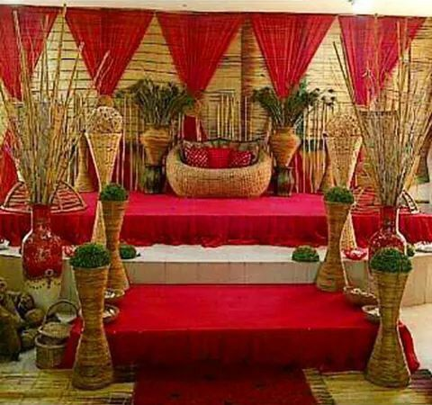 41 best african traditional wedding decoration images on pinterest traditional decor junglespirit Gallery