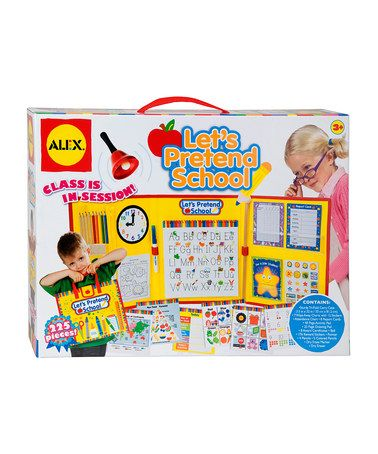 Take a look at this Let's Pretend School Kit by ALEX on #zulily today!