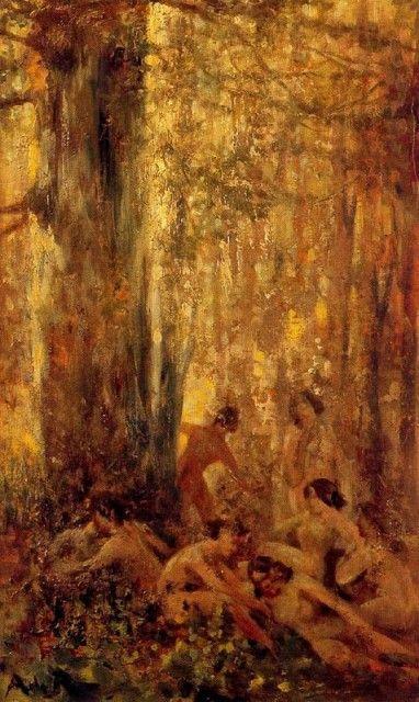 Resultado de imagen de nimfes del bosc