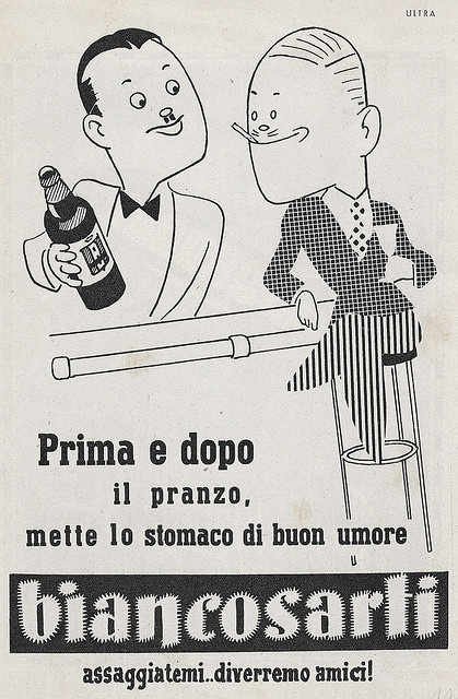 Biancosarti by VINTAGE AD, via Flickr