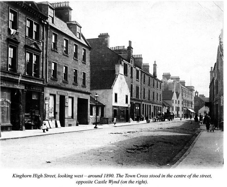 Kinghorn High Street, 1890