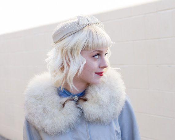 chapeau Vintage halo / années 1940 chapeau chapeau par MoonRevival