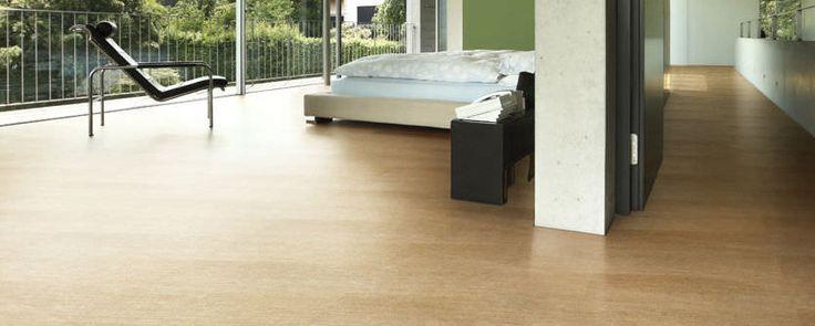 Baldosa de suelo / de gres porcelánico / pulida / imitación parquet - TECHLAM® : MADEIRA ROBLE - Levantina