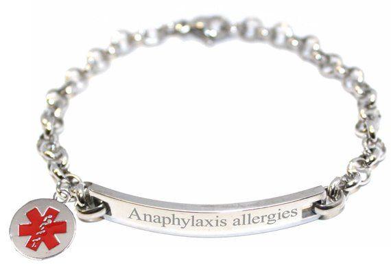 Engraved Personalised Medic Alert
