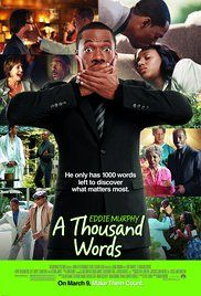 1000 Words Full Movie Viooz. After stretching the truth on a deal with a spiritual guru, literary agent Jack McCall finds a Bodhi tree on his property. Its appearance holds a valuable lesson on the consequences of every word he speaks.
