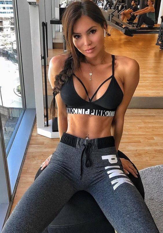 8f16774641d67 Sexy Girls - Girls with Abs - Workout Babes  SexyWoman  Abs  Gym ...