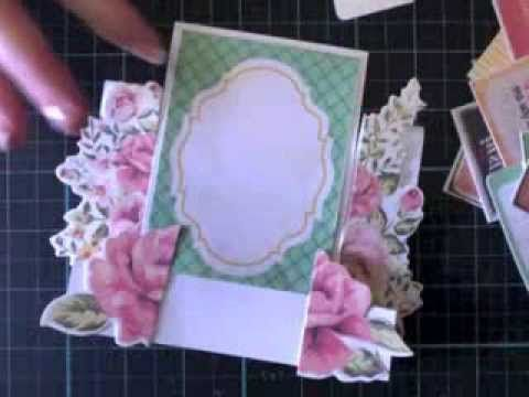 This is a short (7 -8 min)  clip about how to make the quick and easy step cards I'm constantly making. It features Kaisercraft products. Created by Kelly-ann Oosterbeek.