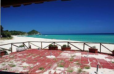 Cala Sinzias Strand,Sardinien