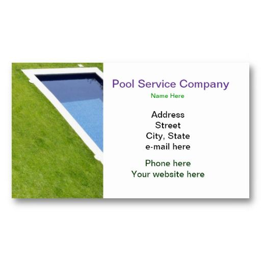 16 Best Swimming Pool Business Cards Images On Pinterest Pools Swiming Pool And Swimming Pools