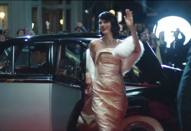 taylor-swift-pink-christian-siriano-gown-wildest-dreams-music-video