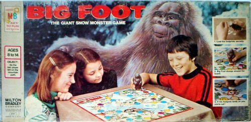 bigfoot game | Bigfoot News | Bigfoot Lunch Club: Bigfoot Board Games