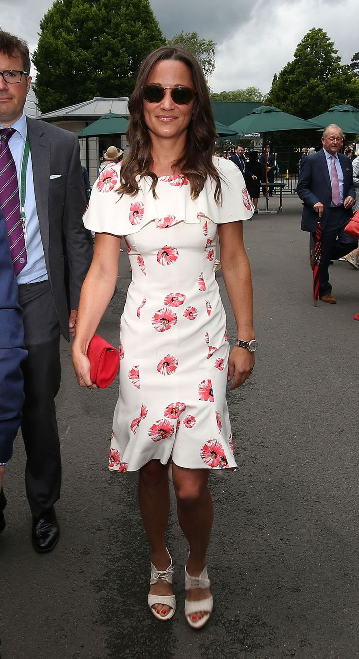 Robe kate middleton wimbledon